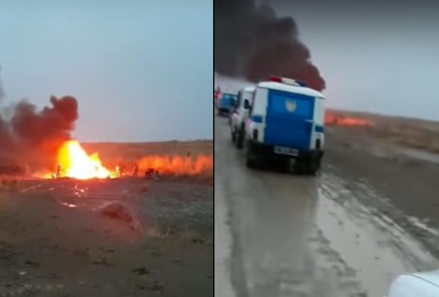 При крушении вертолета погибли 13 военнослужащих