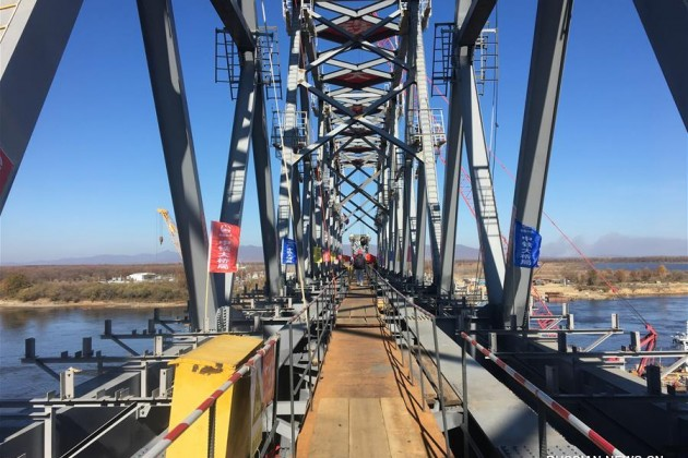 Достроен китайский участок моста через Амур