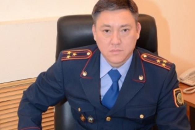 Берик Бисенкулов стал начальником ДВД на транспорте