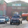 В Алматы загорелось трамвайное депо