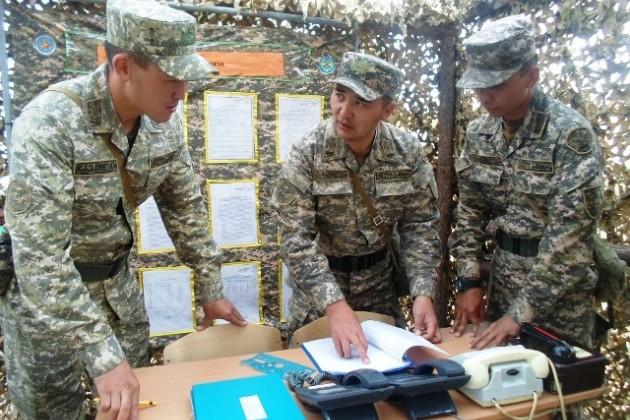 Военные применяют средства связи отечественного производства