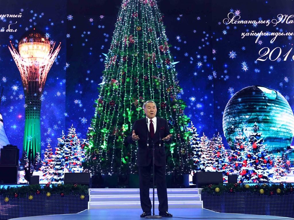 Нурсултан Назарбаев: Пусть любовь вваших сердцах никогда неугасает