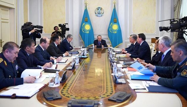 Елбасы: Беды и трудности одного региона являются общим вопросом