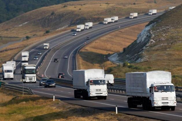 Гуманитарный конвой посчитали нарушением суверенитета Украины