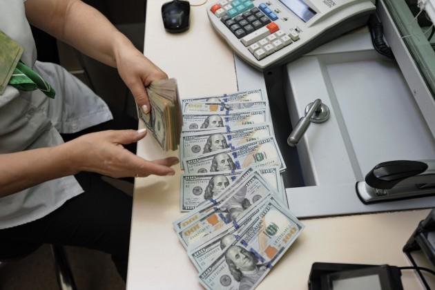 Дневные торги: 375,47 тенге за доллар