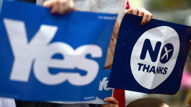 Известны первые данные по референдуму в Шотландии