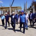 Аскар Мамин посетил с рабочей поездкой Туркестанскую область и Шымкент