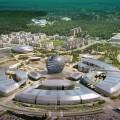 Президент осмотрел выставочный комплекс Астана ЭКСПО-2017