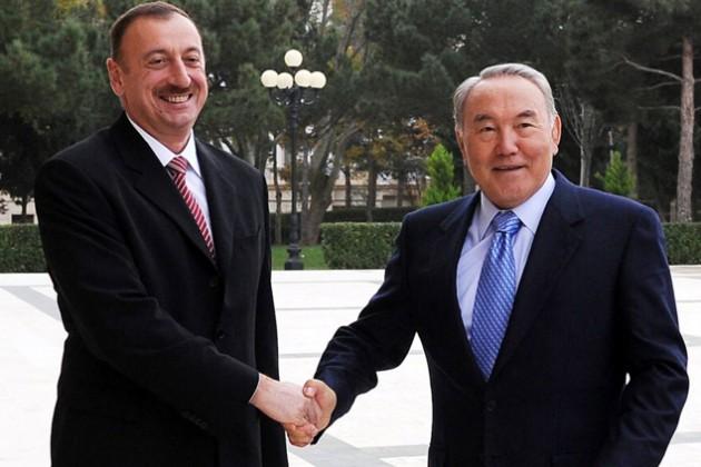 Назарбаев и Алиев обсудили вопросы сотрудничества