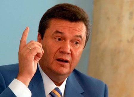 Янукович объявил о вступлении Украины в ТС
