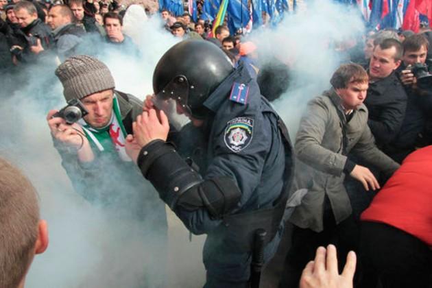 Оппозиция Украины готовится к штурму