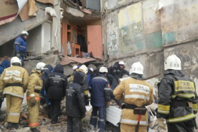 Проводится расследование пофакту обрушения дома вШахтинске