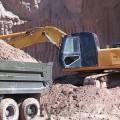 В Шымкенте пресечена незаконная добыча песка