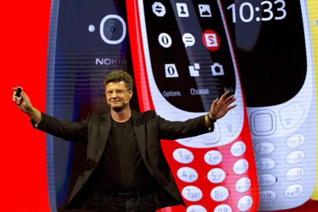ВБарселоне представили ремейк Nokia 3310