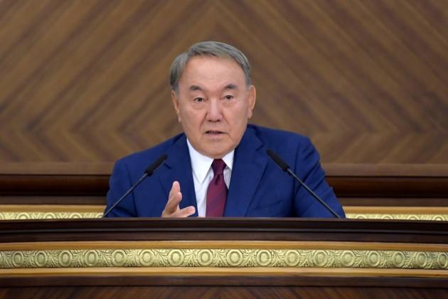 Президент выступит сПосланием народу Казахстана