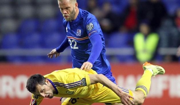 Сборная Казахстана проиграла Исландии в Астане