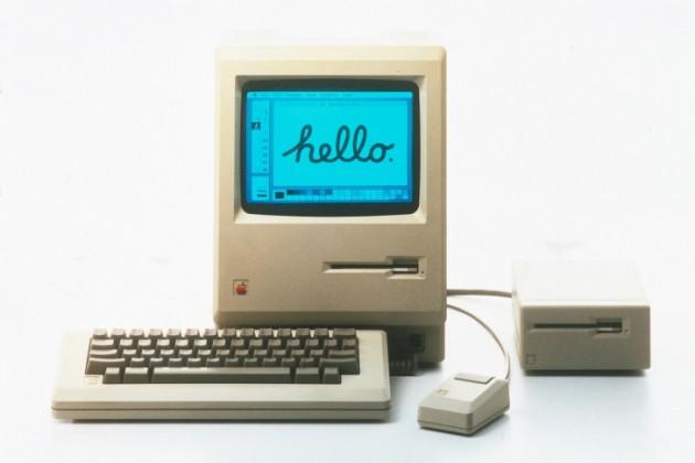 30 лет назад Стив Джобс показал первый компьютер Macintosh
