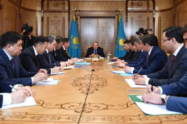 Нурсултан Назарбаев дал поручения Канцелярии Первого Президента