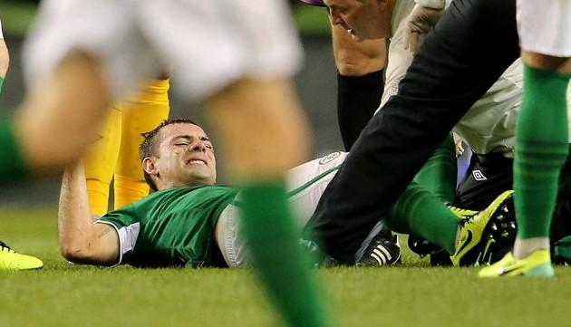 Игрок сборной Ирландии выбыл из строя до конца сезона