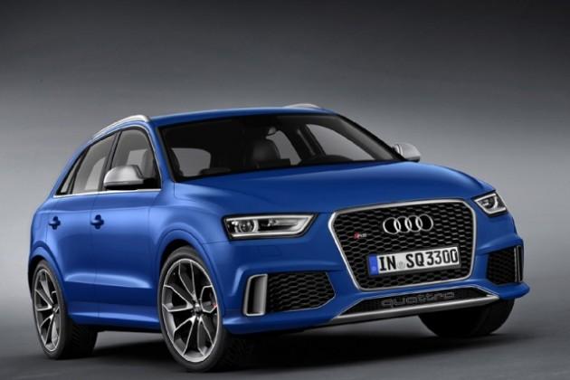 Audi RS Q3 2014 представлен официально