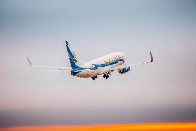 Авиакомпания SCAT открывает три новых рейса