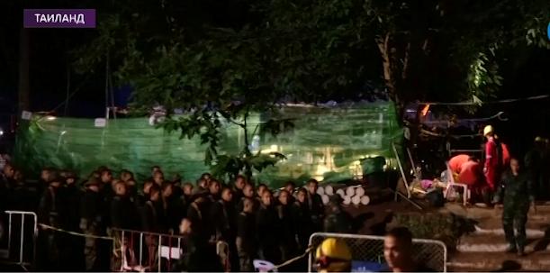 Иззатопленной пещеры вТаиланде спасли 6мальчиков