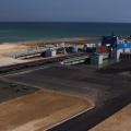 Порт Курык перевалил первый миллион тонн грузов