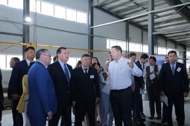Завод по выпуску стройматериалов запустят в Актобе