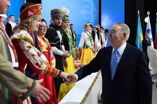 Президент поздравил казахстанцев спраздником 1мая