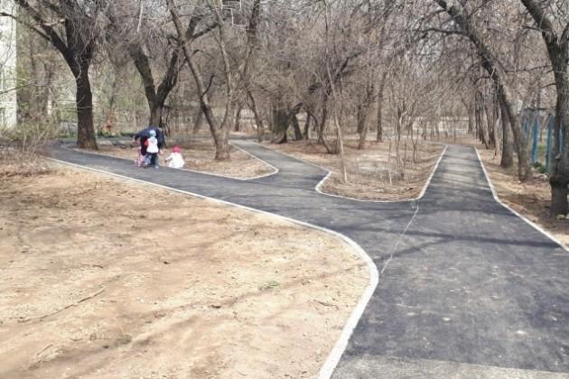 ВАлматы отремонтируют ипостроят более 30км тротуаров