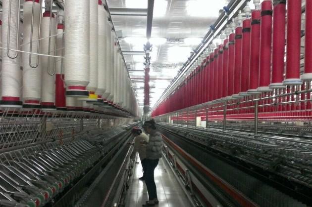 В Шымкенте начали выпускать хлопчатобумажную пряжу
