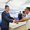 Наюге Казахстана запущено 33модульных пункта приема молока