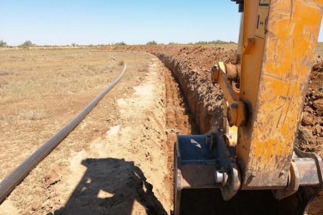 Строительство газопровода «Сарыарка» обещают завершить до конца года