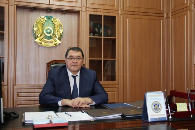 Кайрат Сунтаев освобожден от должности
