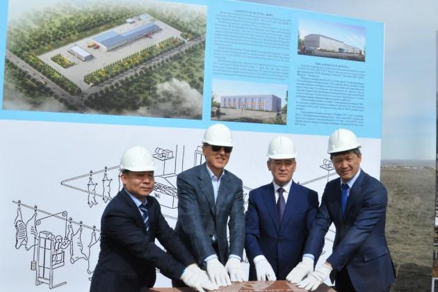 В Талдыкоргане строят крупный мясокомбинат