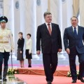 Петр Порошенко позвонил Нурсултану Назарбаеву