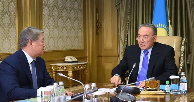 Президент дал ряд поручений Ахметжану Есимову
