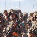Воинские части переведены на усиленный режим