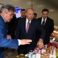 Президент посетил несколько предприятий Западно-Казахстанской области