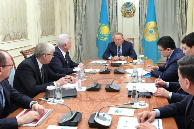 Президенту рассказали о совместном проекте Лукойла и КМГ
