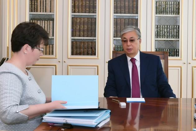 Президент принял председателя Счетного комитета