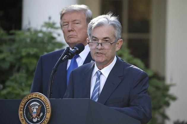 Новым главой ФРС стал Джером Пауэлл