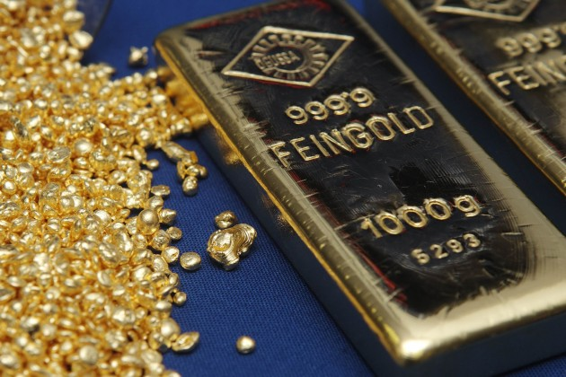 В конце 2014 года золото будет стоить около $1 тыс