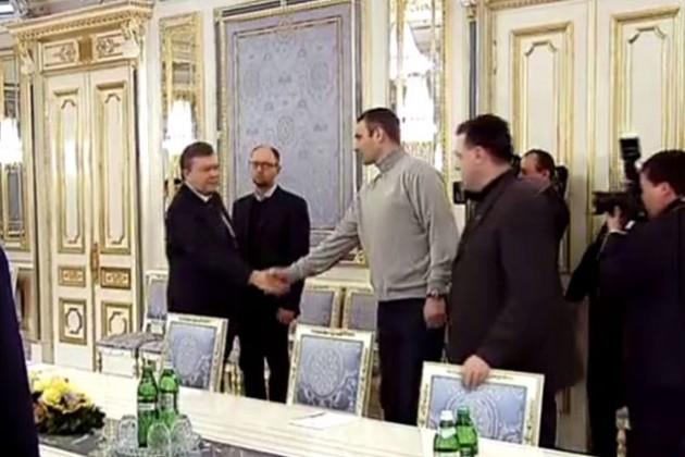 Кличко рассказал о договоренностях с Януковичем