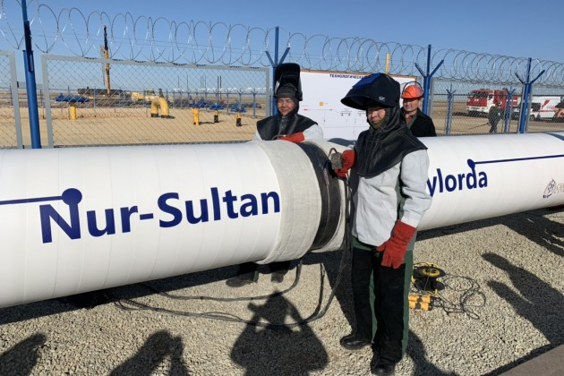 Газопровод «Сарыарка» дошел до Нур-Султана. Что дальше?