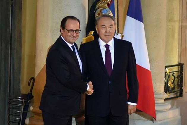 У Астаны и Парижа имеется большой потенциал взаимодействия