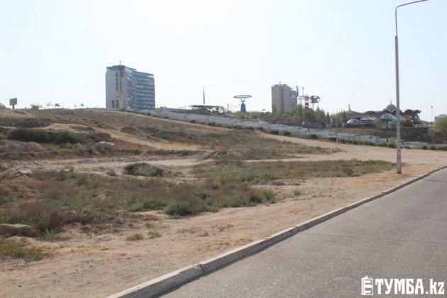 В Актау не освоены более 50 земельных участков