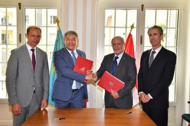 Фонд Принца Монако намерен сотрудничать сКазахстанским центром зеленых технологий