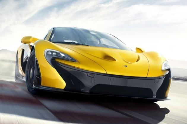 Официальные фото McLaren Р1