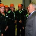 Назарбаев осмотрел заводы Усть-Каменогорска